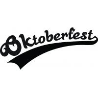 Октоберфэст_ - наклейка надпись к Oktoberfest