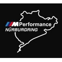 Наклейка BMW M Performance