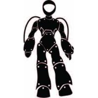 Робо робот, наклейка