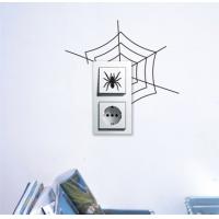 Паутинка - наклейка на розетку, включатель, выключатель