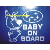 Baby on board наклейка