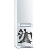 наклейка на холодильник - Заборчик