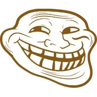Мем smile, наклейка