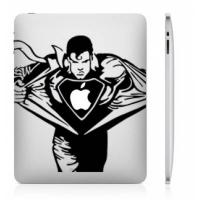 Наклейка на Apple Mac - Superhero
