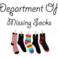 Missing socks - наклейка