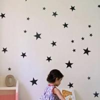 Звездочки - наклейки стики на стену