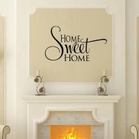 Home sweet home - наклейка