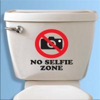 No selfie zone